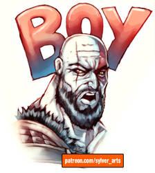 Boy by sylverarts