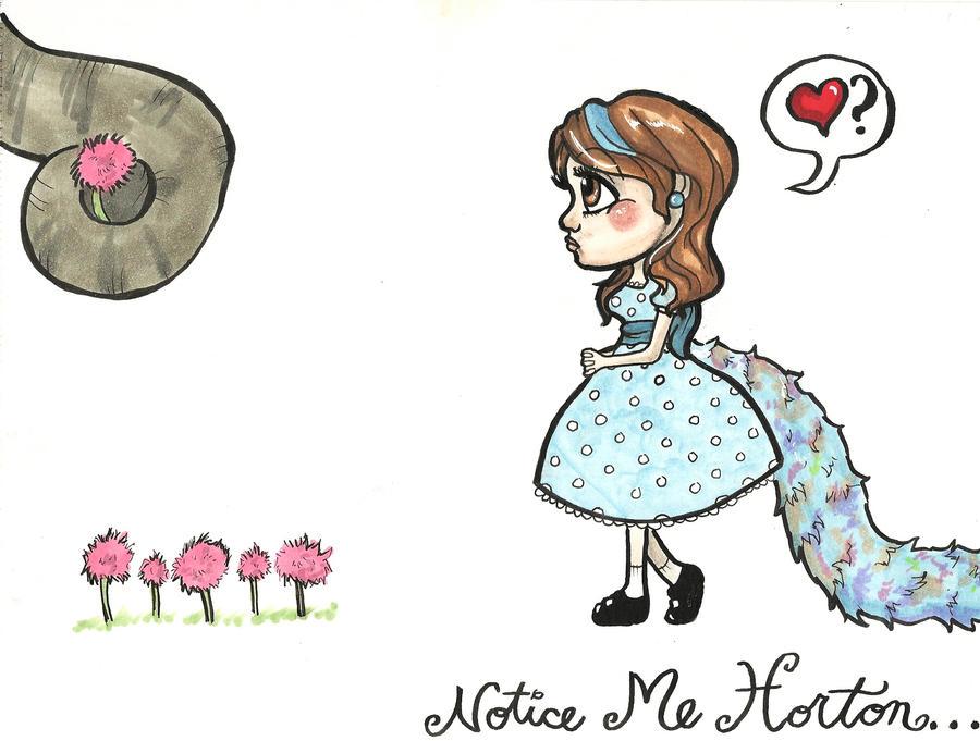 Notice Me, Horton by OH-MisterLoki on DeviantArt |Seussical Fan Art