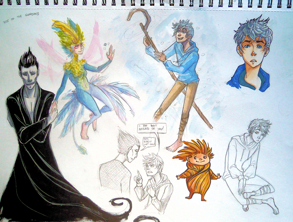 Rise of the Guardians by EliaOwl