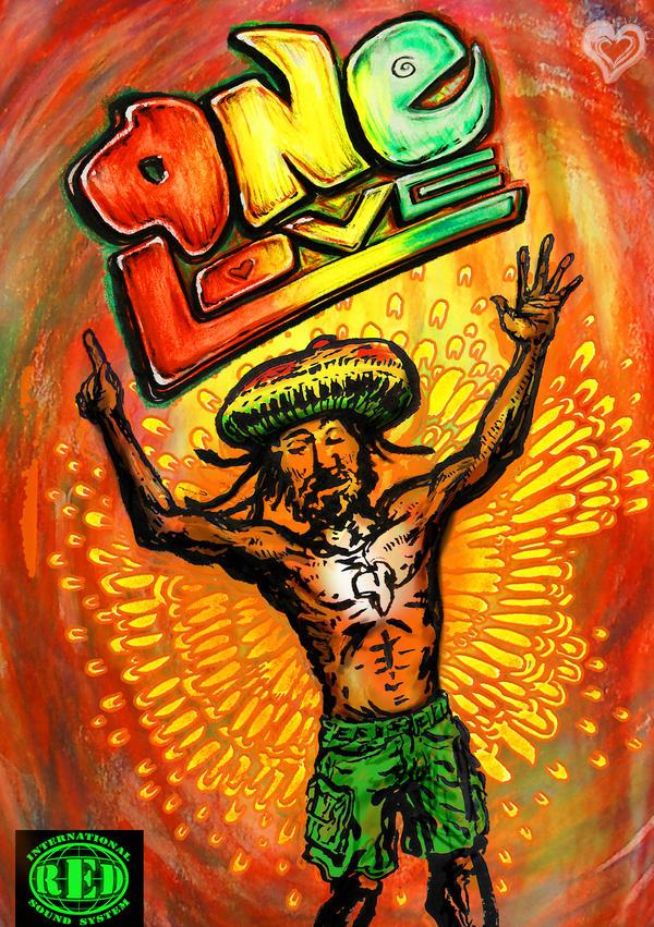 Reggae Imagens ~ One Love reggae club flyer by mORGANICo cOM on DeviantArt