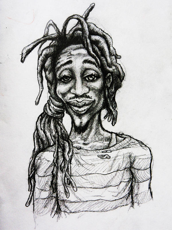 Rasta lion face sketch - photo#5