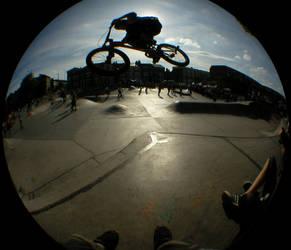 Sk8 Jammin at Brixton Beach by mORGANICo-cOM