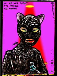 Deviant Art of cat face woman by mORGANICo-cOM