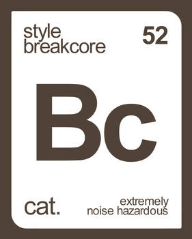 the breakcore element
