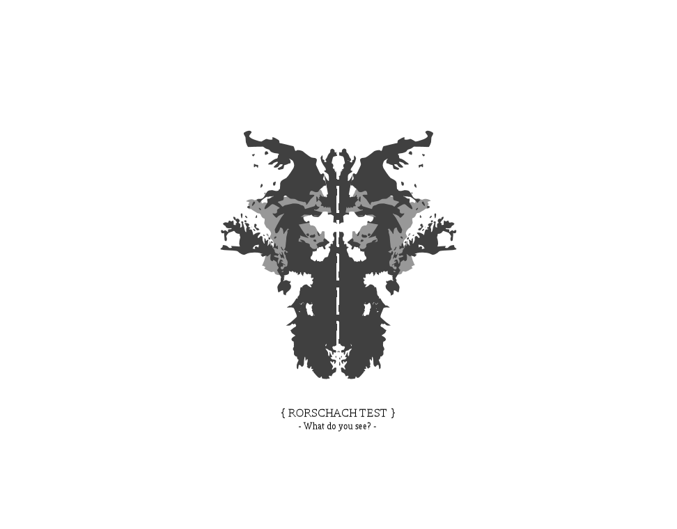 rorschach test by thekustomizer