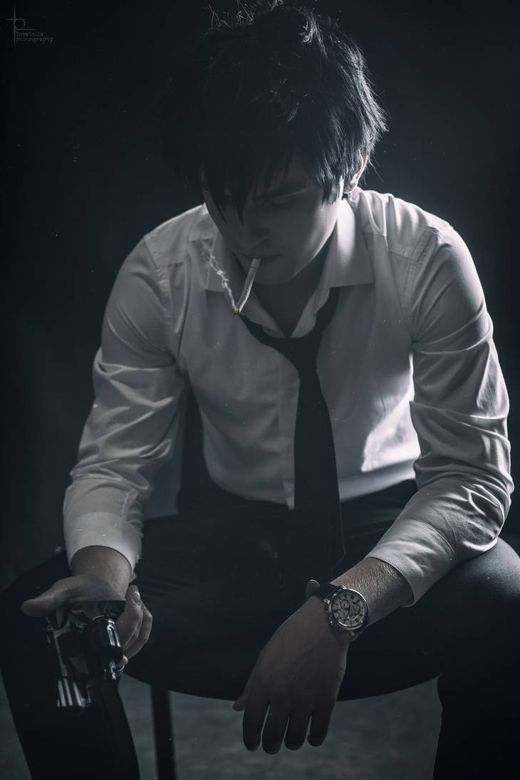 Kogami Shinya cosplay by GraysonFin