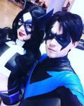 Huntress and Nightwing