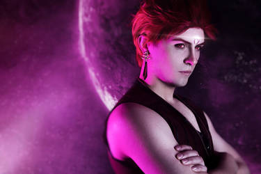 Sailor Moon Cosplay | Rubeus from Black Moon clan by GraysonFin