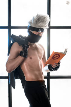 Kakashi Hatake sexy cosplay