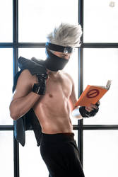 Kakashi Hatake sexy cosplay by GraysonFin
