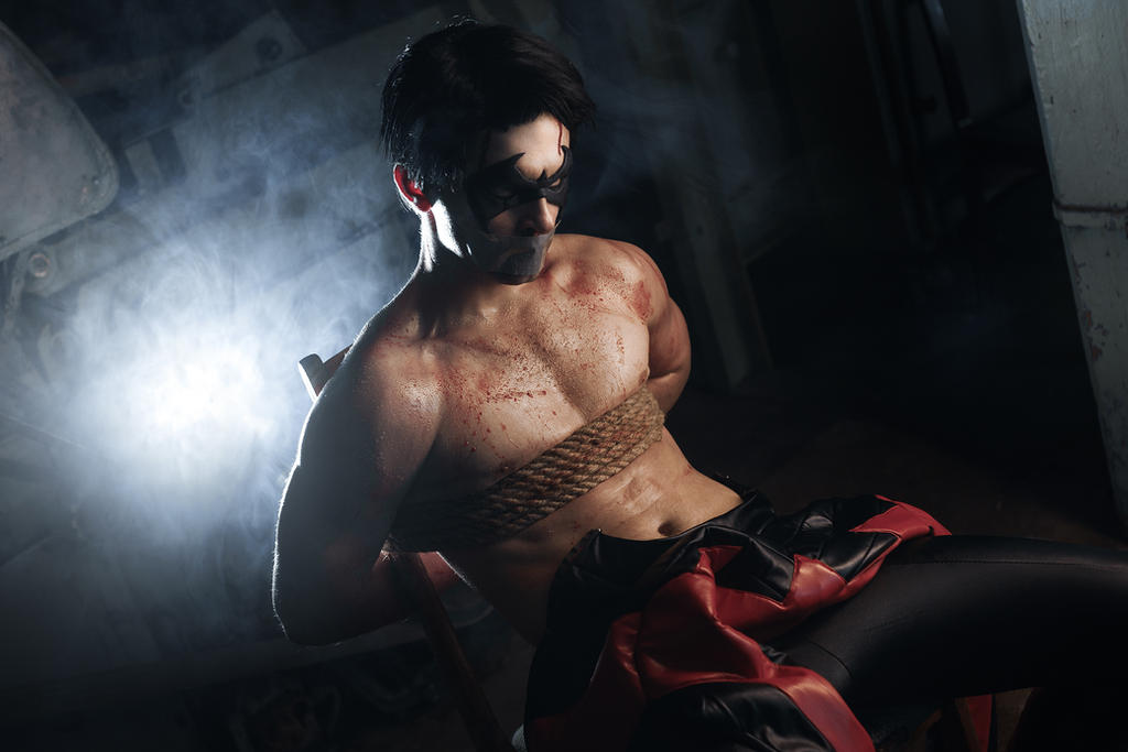 Sexy Nightwing! In trap by GraysonFin