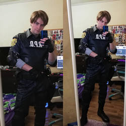 Leon Kennedy RE2 Remake by GraysonFin