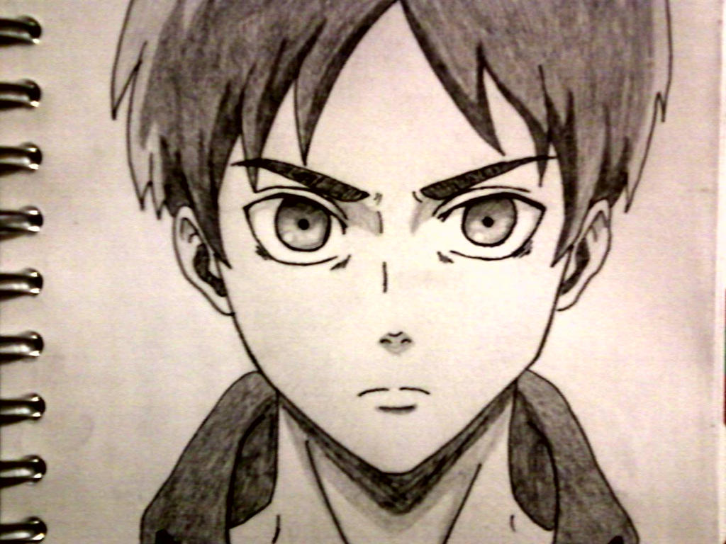 Eren Yeager Drawing by zsanix12345Eren Jaeger Drawing