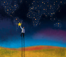 Ladder to the Stars by roweig