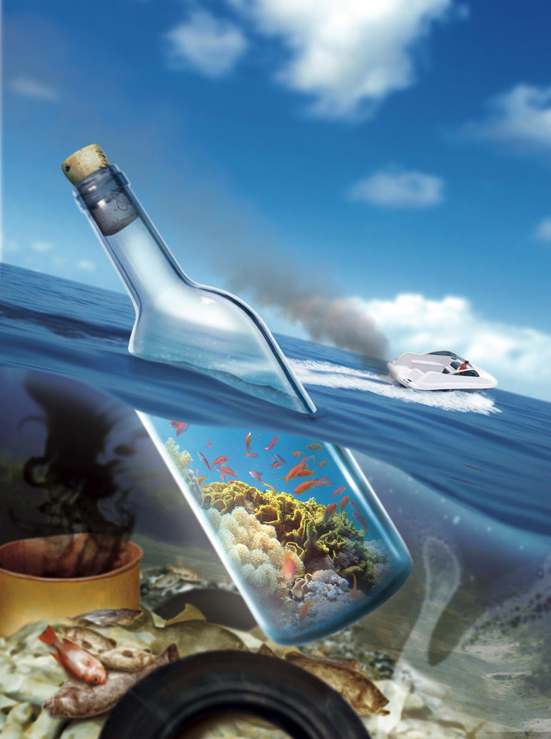 Message in Bottle by roweig
