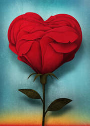 Rose by roweig