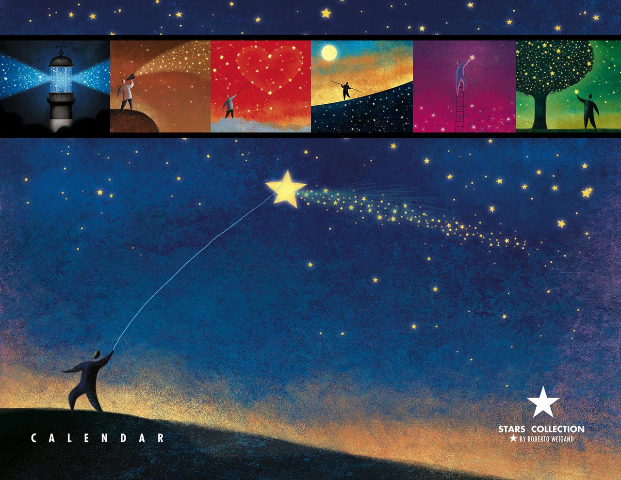 Stars Collection - Calendar