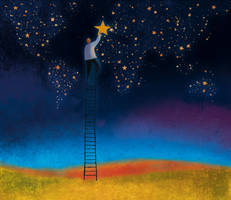 Ladder to the Stars - Europe by roweig