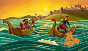 Sadko - Fishing by roweig
