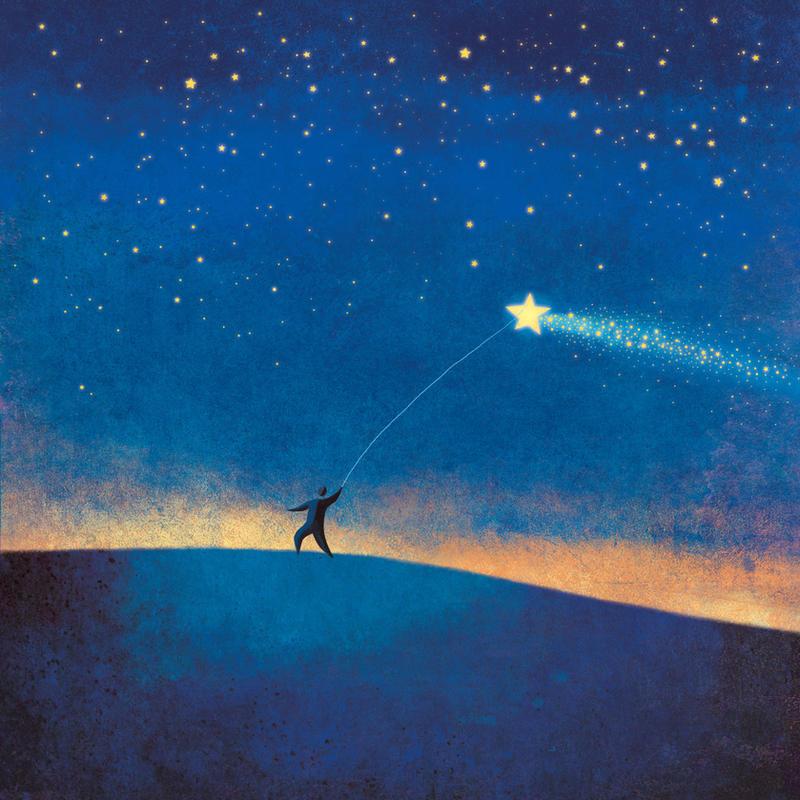 Stars Kite - v2 by roweig