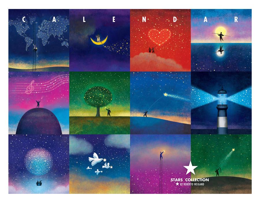 Calendar - Stars Collection