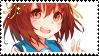 Haruhi Suzumiya Stamp by peachkys