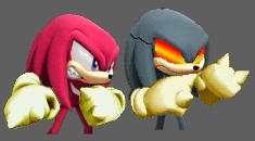 Metal knuckles sonic rivals