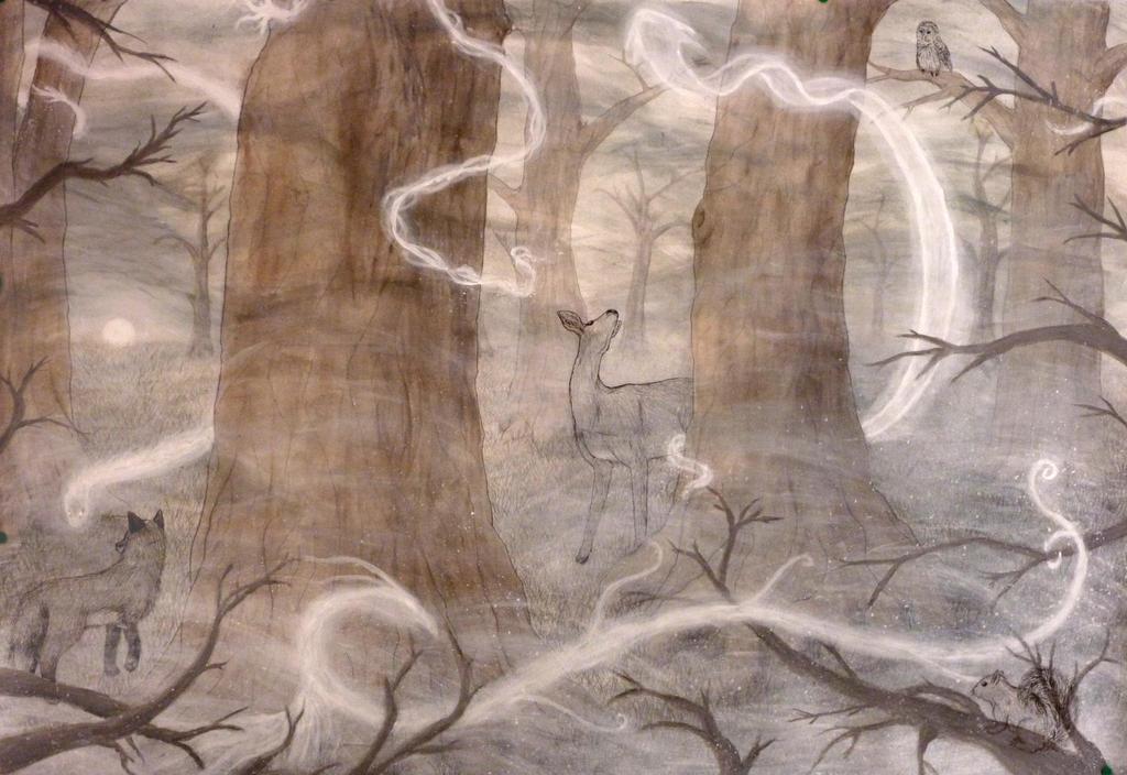 Spirit Forest by CatDemon152