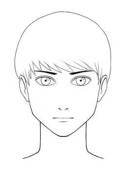 Self Character Design - Face Front