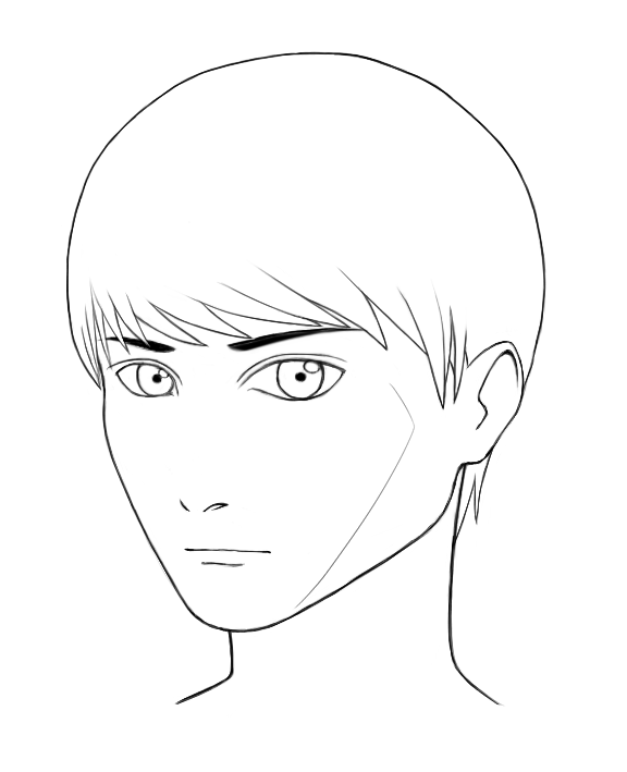 Self Character Design - Face Angle