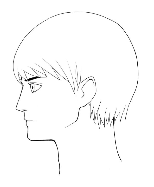 Self Character Design - Face Side