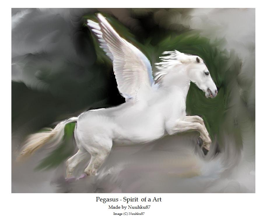 Pegasus - spirit of art by Nuuhku87