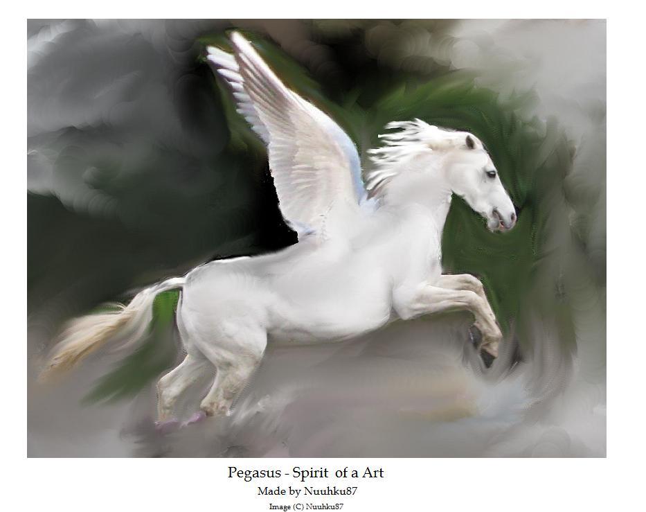 Pegasus - spirit of art by Nuuhku87