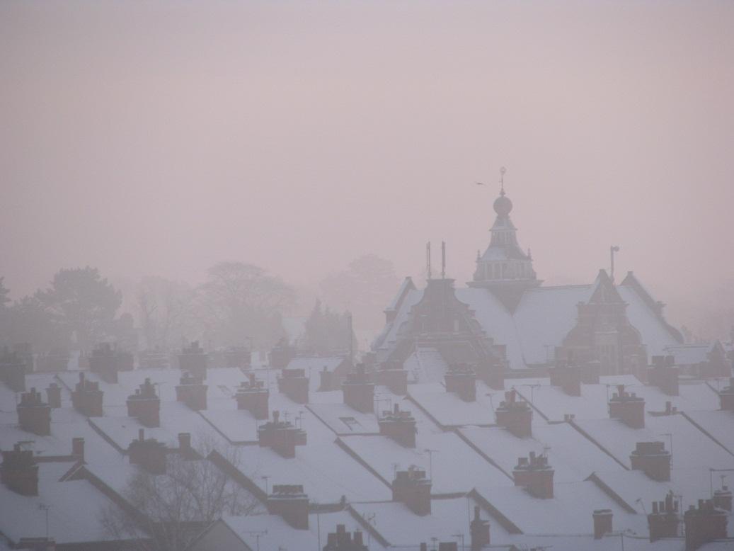 Dawn, a snowy morning 2 by Nuuhku87