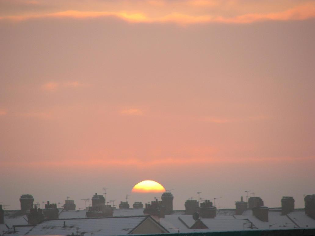 Dawn, a snowy morning 3 by Nuuhku87