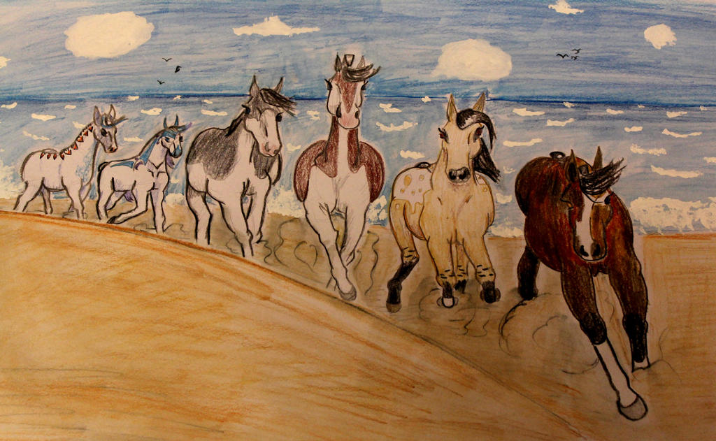 Beach Run by Nuuhku87