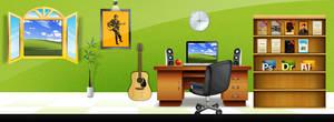 Facebook Cover page of Designer Work Station