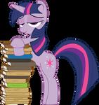 MLP FiM: Twilight Sparkle with books
