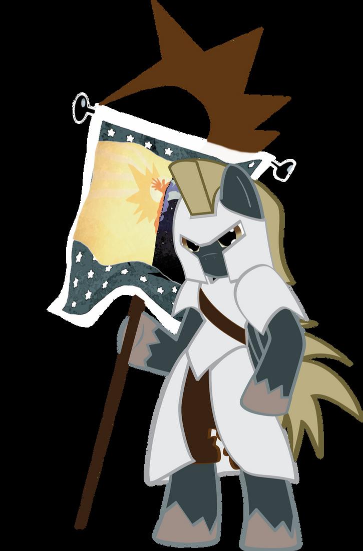 Piercing Slash: Celestia's Templar by Hoodie-Stalker
