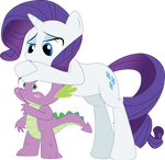 MLP FiM : Spike and Rarity