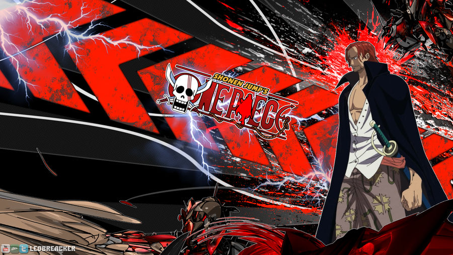 One Piece Shanks Desktop Background 1600x900 By Leobreacker On Deviantart