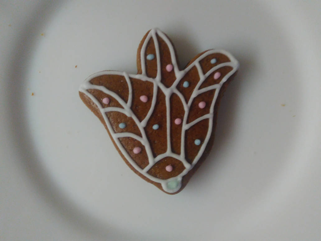 Gingerbread flower by LadyMalande