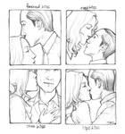 Kissing Meme: Ariadne + Arthur