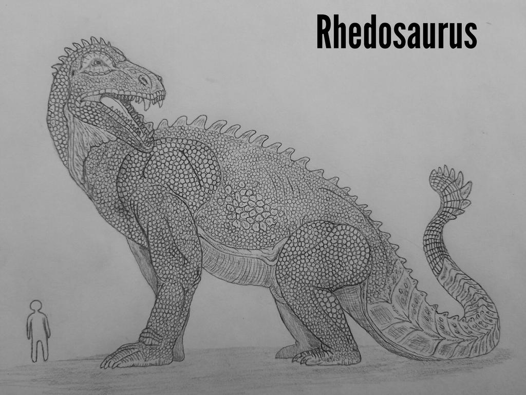 Monster Island Expanded: Rhedosaurus by Trendorman