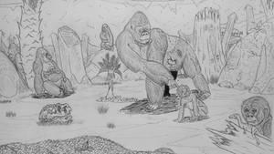 Monster Island Expanded: Highlands of Kong