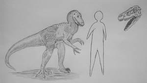 MonsterIslandExpanded: Velociraptor by Trendorman