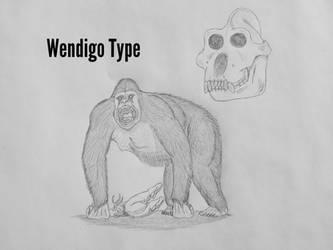 COTW#219: The Wendigo Type Sasquatch by Trendorman