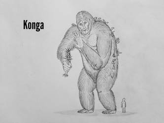 Monster Island Expanded: Konga by Trendorman