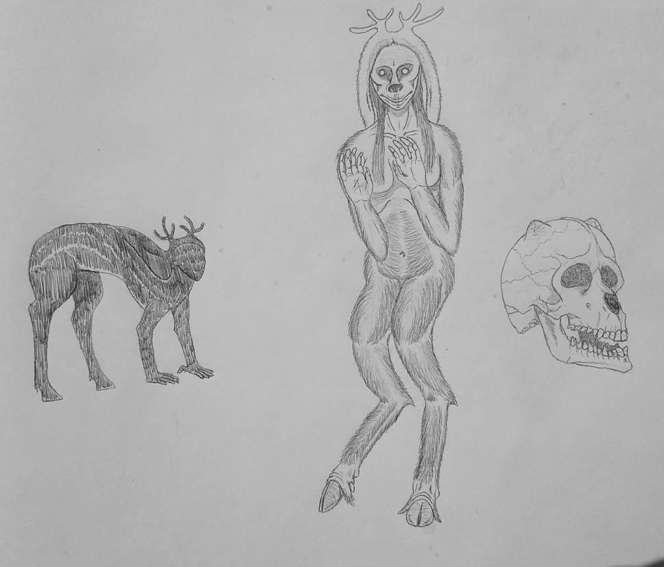 COTW#227: Deer Women by Trendorman