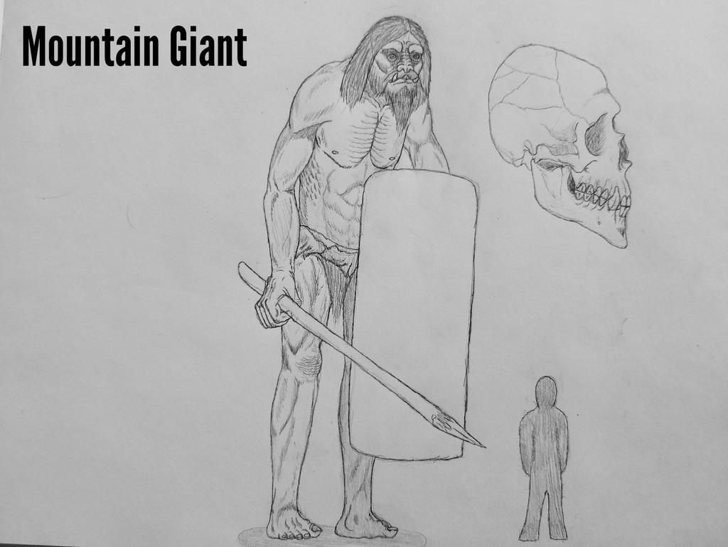 COTW#230: Mountain Giants by Trendorman